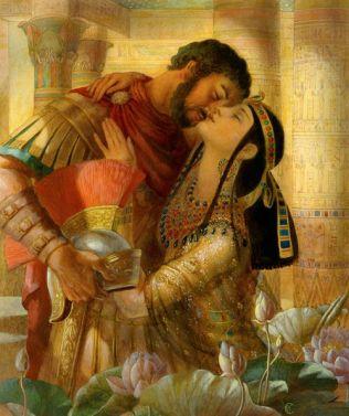 Mark Antony and Cleopatra VII of Ptolemaic Egypt
