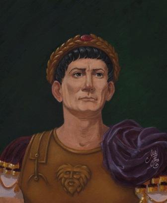 Emperor Trajan (r. 98-117), real name: Marcus Ulpius Traianus