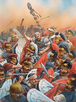 Civil War between Caesar and Pompey