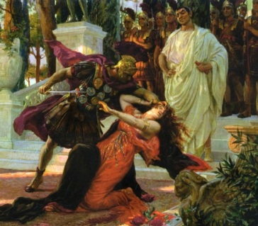 Claudius I orders Messalina's execution, 48AD