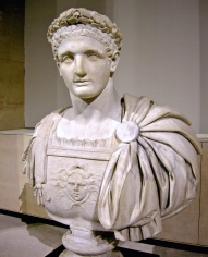 Emperor Domitian (r. 81-96AD), son of Vespasian and brother of Titus