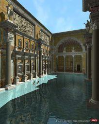 Baths of Caracalla interior