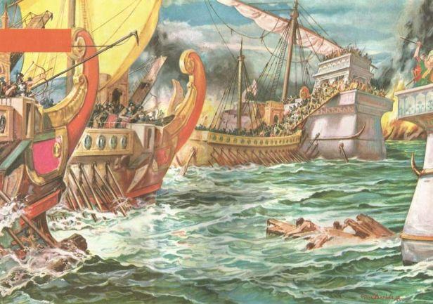 Battle of Actium, 31BC victory of Octavian over Antony