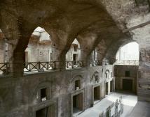 Remains of stalls at Trajan's Market
