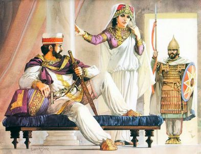King Odaenathus of Palmyra and wife Queen Zenobia
