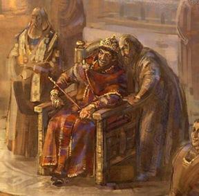 Emperor Zeno in Constantinople
