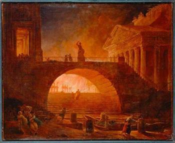 Fire in Rome