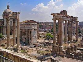 Roman Forum today