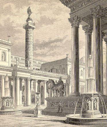 Trajan's Forum with column