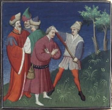 Blinding of Isaac II Angelos, 1195
