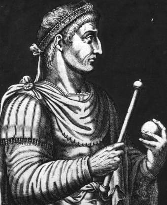 Constantine I the Great (r. 306-337), founder of the Byzantine Empire