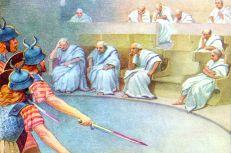 Gauls invade Rome, 390BC