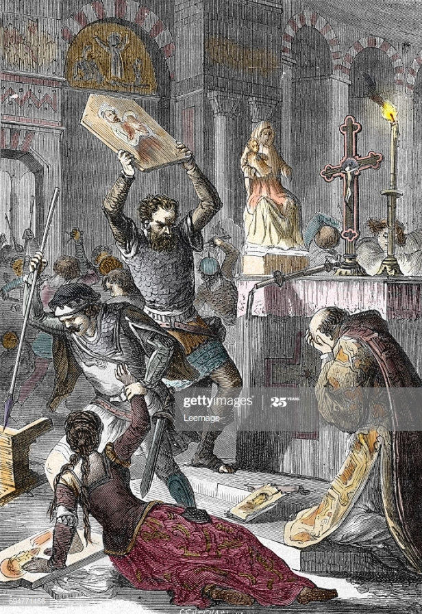 Iconoclasm, breaking of icons in Byzantium under Leo III