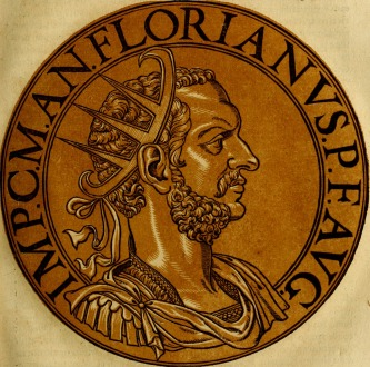 Emperor Florianus (r. 276), brother of Tacitus