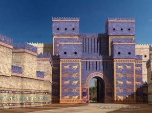 Reconstruction of the gates of Babylon