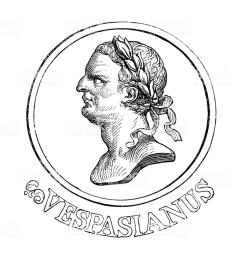 Emperor Titus Flavius Vespasianus (aka Vespasian)