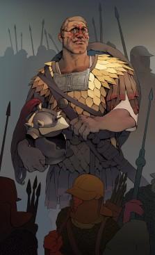 Maximinus I Thrax (r. 235-238), centurion turned Roman emperor
