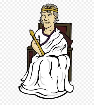 Emperor Claudius I in imperial attire