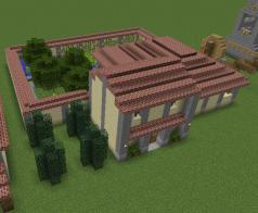 Roman countryside villa, Minecraft