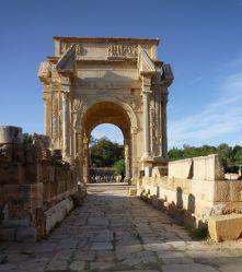 Leptis Magna, city built under Septimius Severus