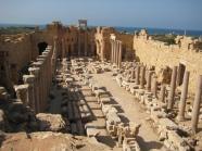 Remains of Leptis Magna, Libya