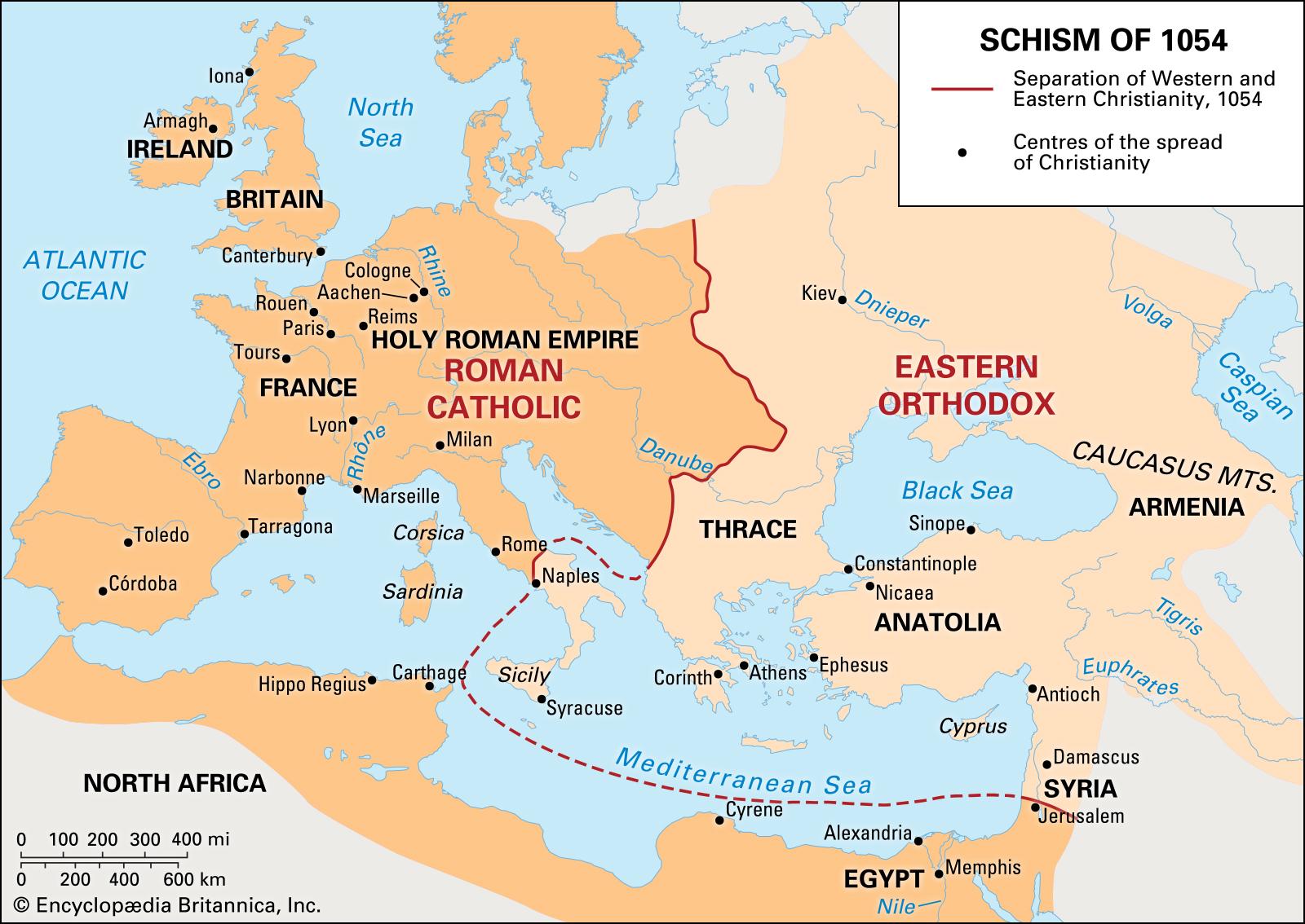 Map-Schism