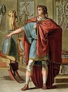 Britannicus, son of Claudius and Messalina