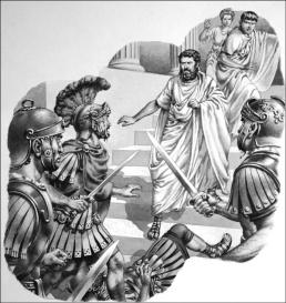 Death of Pertinax, 193