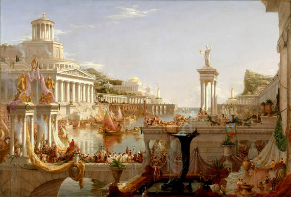 Golden Age of Augustus in Rome under the Pax Romana