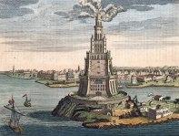 Pharos lighthouse in Roman Alexandria