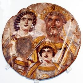 Family of Septimius Severus Tondo