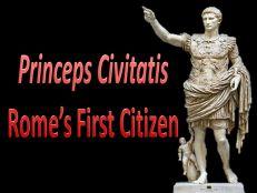 Augustus as Princeps Civitatis