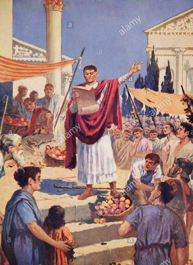 Constantine I issues the Edict of Milan, 313
