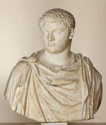 Geta (r. 211), co-emperor of Caracalla, son of Septimius Severus