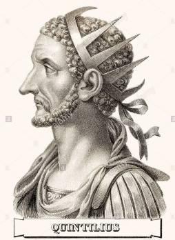 Emperor Quintillus (r. 270), brother of Claudius II