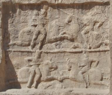 Persian sculpture of Carus' Persian campaign