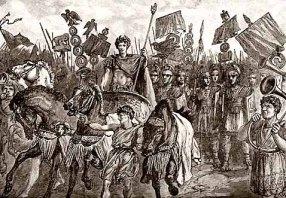 Claudius I's conquest of Britain, 43AD