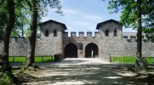 Roman fortress at the Limes in Germany