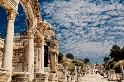 Roman promenade of Ephesus