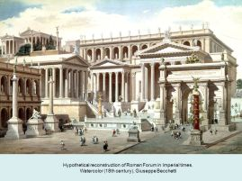 Roman Forum in Republican times