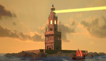 Lighthouse of Alexandria, built under Ptolemaic rule