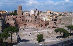 Trajan's Forum/ market today