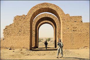 Ancient Mesopotamian arch, Iraq