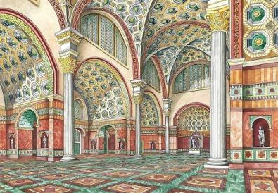 Interiors of the Byzantine Senate hall