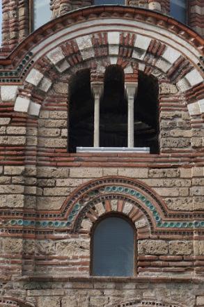 Byzantine brick arches