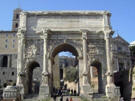 Arch of Septimius Severus, Rome
