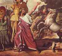 Romulus, first king of Rome