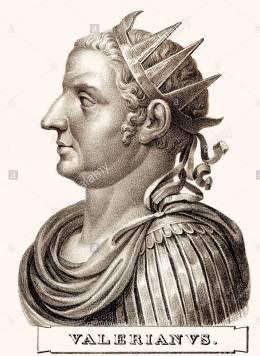 Emperor Valerian (r. 253-260)