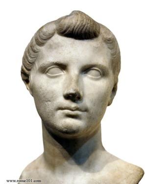 Octavia, sister of Octavian and wife of Mark Antony