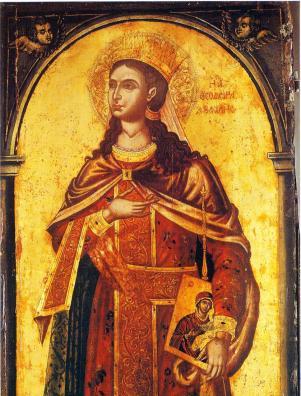 Empress Theodora, restorer of icons